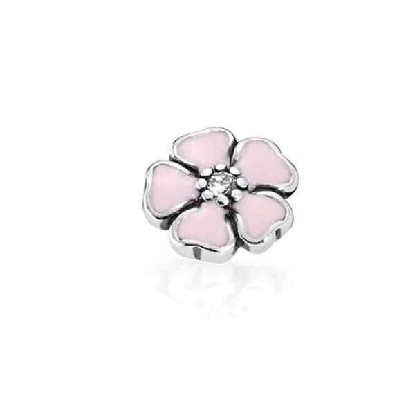Пандора Мініатюра для медальйона Рожева Квітка (петіт)  792079CZ-floweremalrose . 5b4d7007af5dd