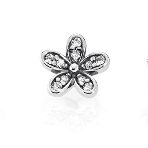 Пандора Мініатюра для медальйона Квітка (петіт) 792079CZ-flowerzircon . 30da55fc3b9bc